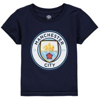 Manchester City Toddler Primary Logo T-Shirt - Navy