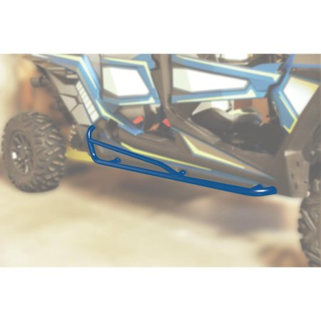 Moose Racing 0530-1428 Nerf Bar - Blue
