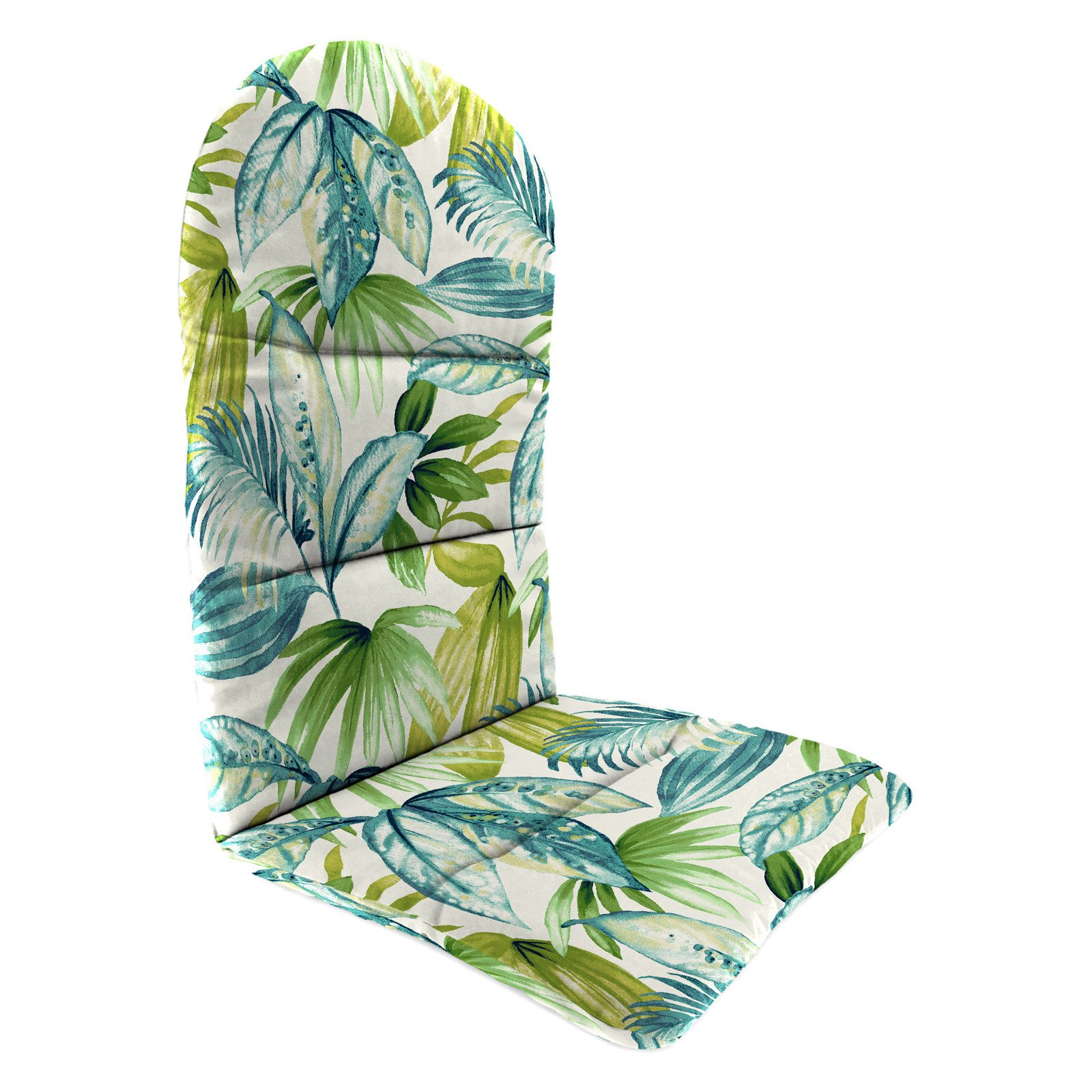 Jordan Manufacturing 49 in. Knife Edge Outdoor Adirondack Chair Cushion - Seneca Caribbean