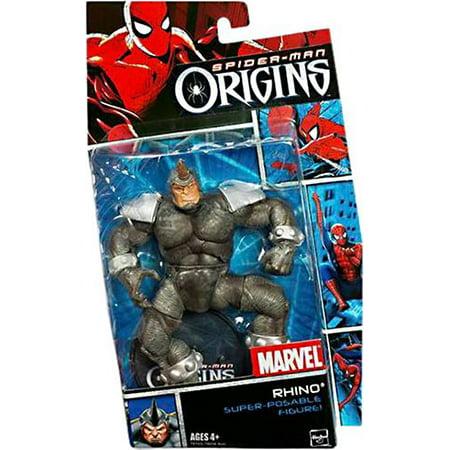 Spider-Man Villains Series 1 Rhino Action Figure (Spiderman Female Villains)