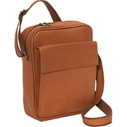 LeDonne Leather Vacquetta Leather Ipad/E-Reader Carry All Bag