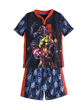 Mavel Avengers Age of Ultron Little Boys' Pajama Set - FREE SHIPPING
