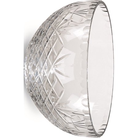 Optic Crystal 6.5inch Medallion II Salad Bowl (6.75mm wide)