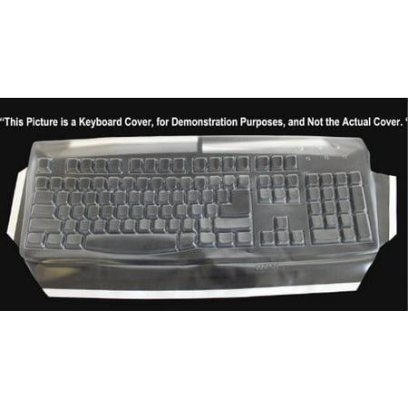 Viziflexs Biosafe Anti Microbial Keyboard Cover Fitting Logitech EX110 YRR71 LX310 SK7207 SK2930