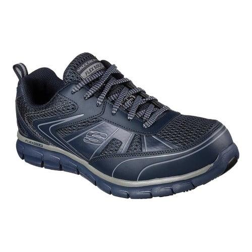 Men's Skechers Work Synergy Fosston Alloy Toe Sneaker by