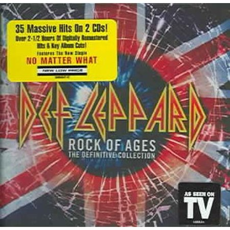 - Rock of Ages: The Definitive Collection (CD)
