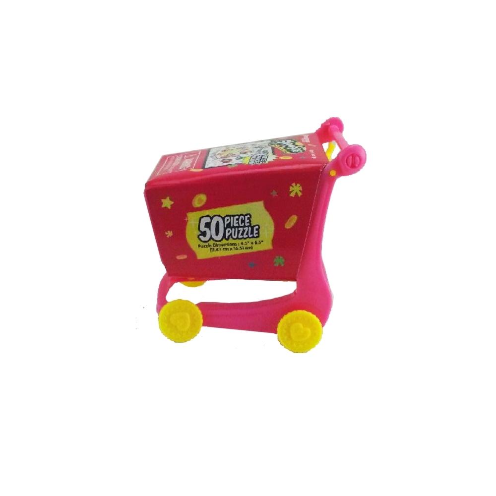 Shopkins Shopping Cart 50 Piece Puzzle, Kids Puzzles by Pressman Toy ...