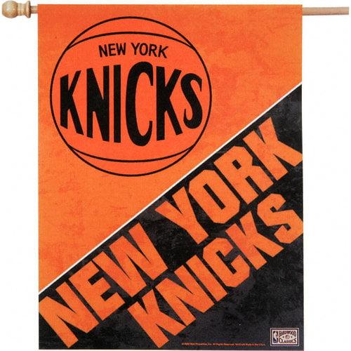NBA - New York Knicks Throwback Vertical Flag: 27x37 Banner