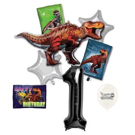 Dinosaur 1st Birthday (1st Birthday Jurassic World Dinosaur Balloons)
