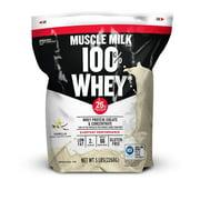 Best Tasting Whey Protein Powders - Muscle Milk 100% Whey Protein Powder, Vanilla, 5 Review