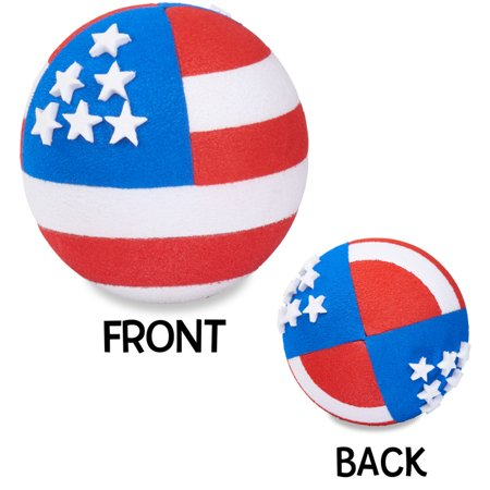 Coolballs Cool American Patriotic Flag (2 Sided) Car Antenna Topper and Car Mirror Dangler (Car Antenna Flag)