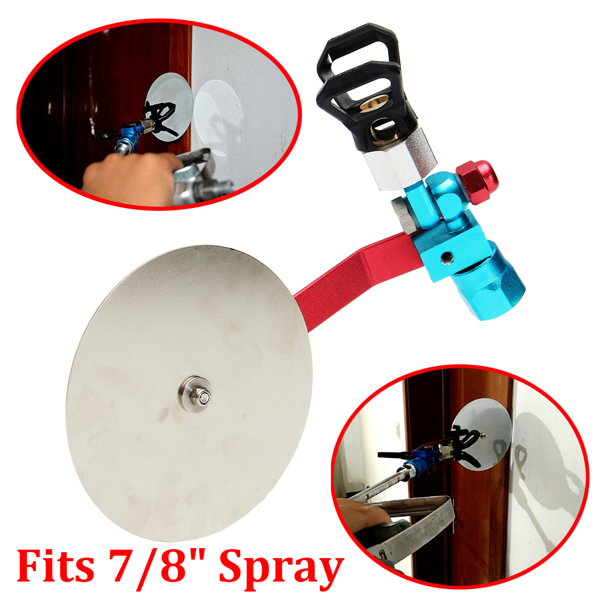 """7 8"""" Universal Airless Paint Sprayer Spray Gun Guide Accessory Tool for Titan Wagner by"""