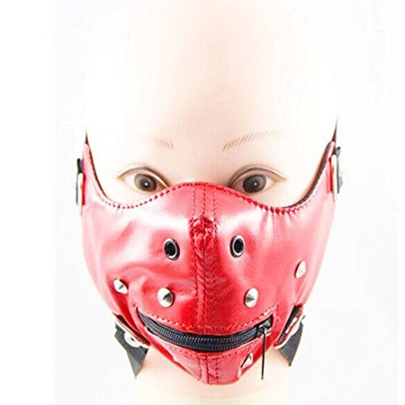 Halloween Gothic Horror Anti Dust Cycling Bicycle Bike Motorcycle Racing Ski Face Mask (red punk) - Horror Face Mask