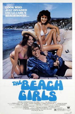 Beach Girls Movie Poster 11x17 Mini Poster by