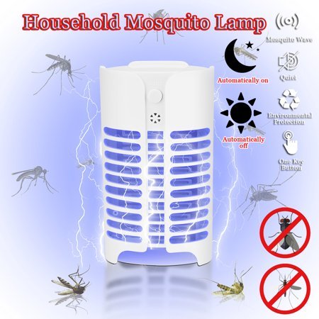 LED Electric Mosquito Fly Insect Killer Killing Catcher Trap Lamp Light