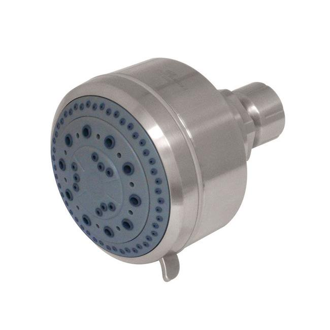 Kingston Brass KX8358 Modern Vilbosch 4 in. 5-Function Shower Head - Brushed Nickel