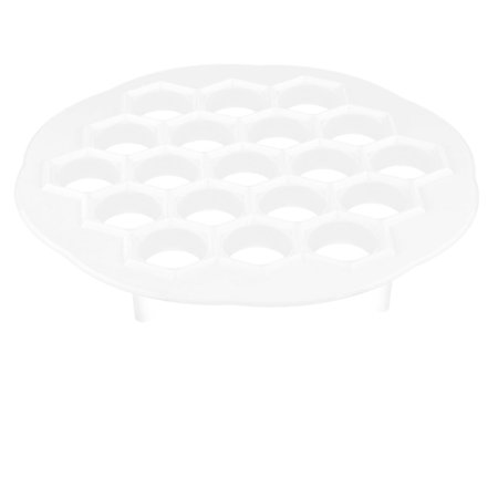 - Household Kitchen Plastic Round Dumpling Dough Making Marker Mold Mould White