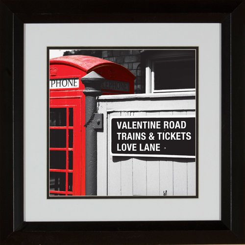 PTM Images Love Lane Framed Photographic Print