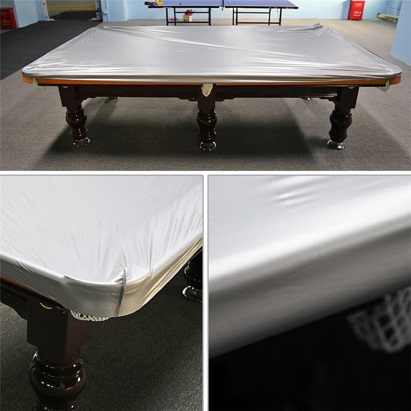 Billiard/Pool Table Cover,Dustproof Moistureproof PVC Cloth,8-Foot Table