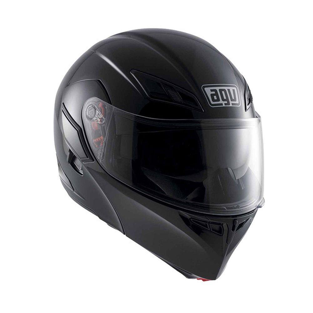 AGV Numo EVO ST Solid Modular Motorcycle Helmet Black