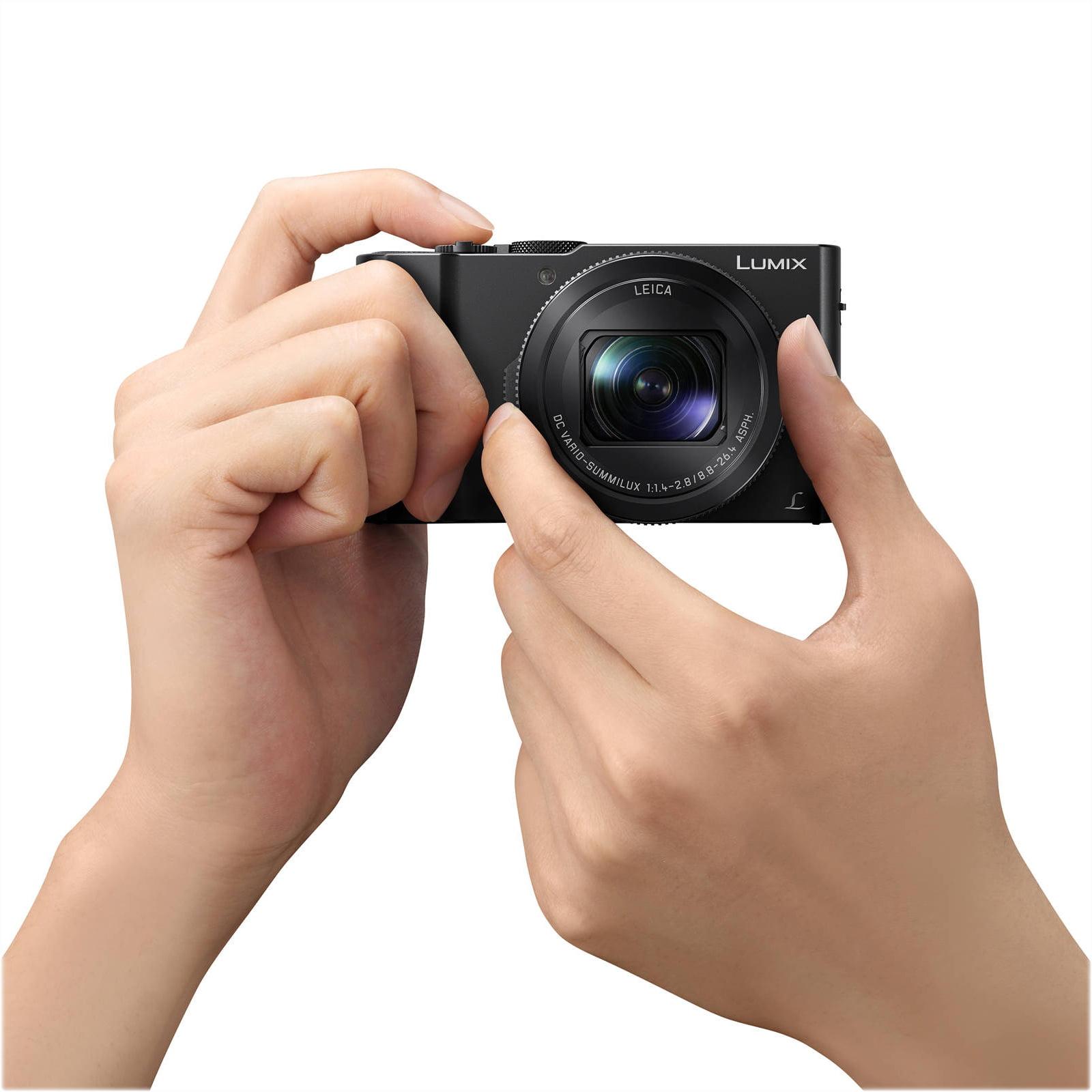 Panasonic Lumix Dmc Lx10 Digital Camera Lx10k Black