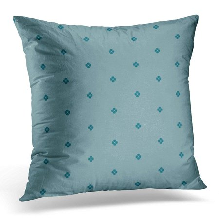 ARHOME Colorful 70S Blue with Quatrefoil Flower Symbol Shape Abstract Pillow Case Pillow Cover 20x20 inch](70s Flower Power Fashion)