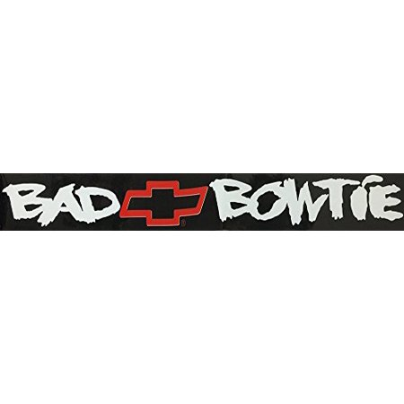 Chroma Bad Bowtie Static Cling (Chroma Graphics Static Cling)