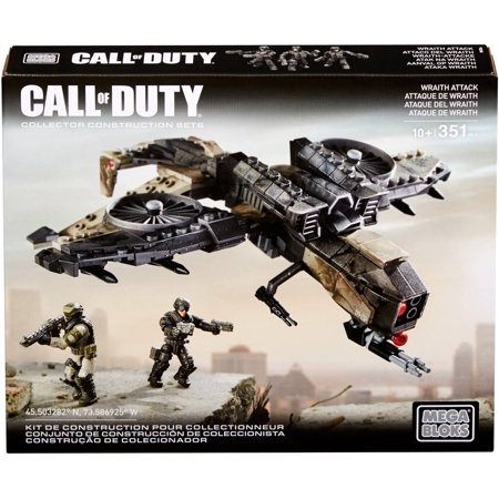 Mega Bloks Call Of Duty Wraith Attack with 2-Micro Action