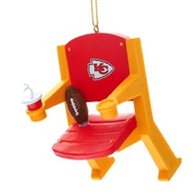 Kansas City Chiefs Stadium Chair Ornament