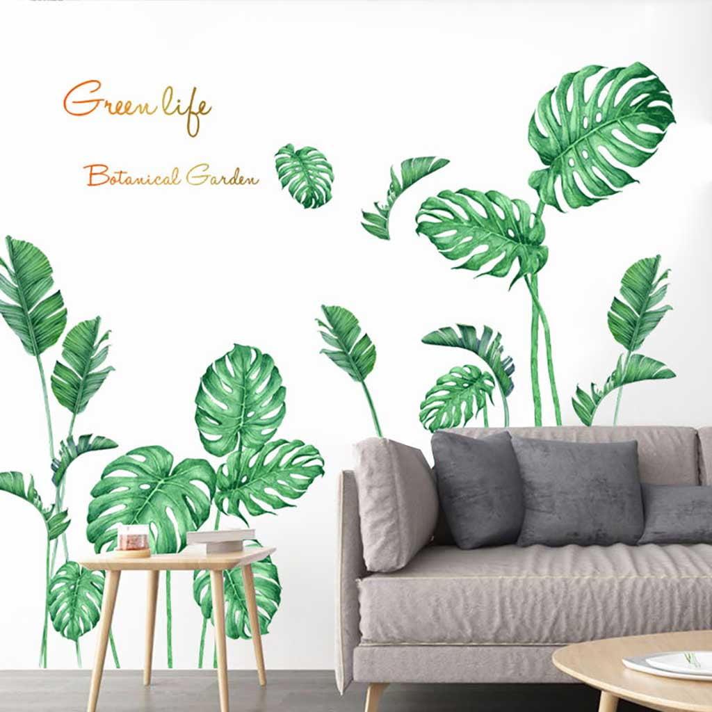 Jpgif Diy Beach Tropical Palm Leaves Wall Stickers Modern Art Vinyl Decal Wall Mural Walmart Com Walmart Com Tropical wall art and canvas prints by artist kerri shipp for driftwood interiors. walmart
