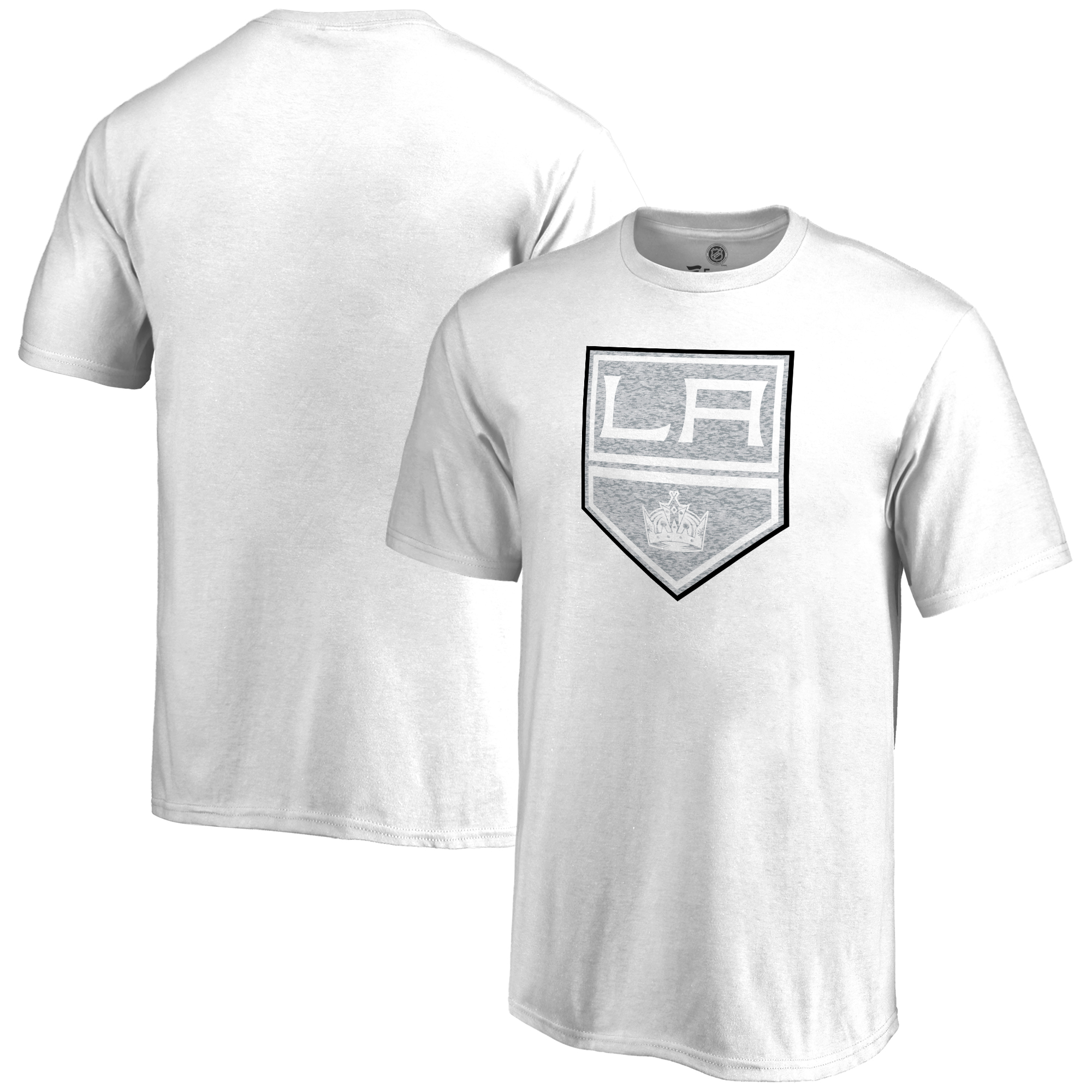 Los Angeles Kings Youth Whiteout T-Shirt - White