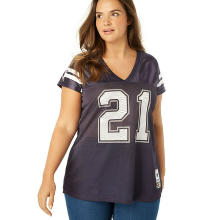 2c70ebfe862 Woman Within - Woman Within Plus Size Nfl Replica Football Jersey -  Walmart.com