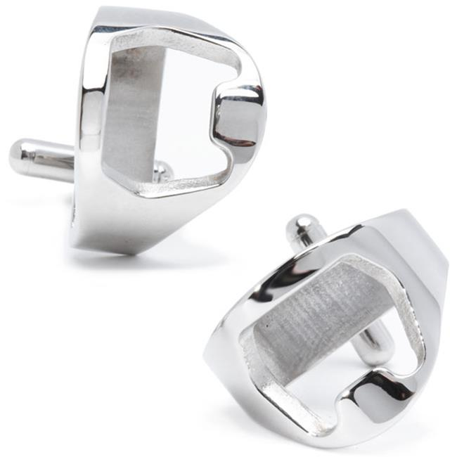 Cufflinks CC-BO-STL Stainless Steel Bottle Opener Cufflinks