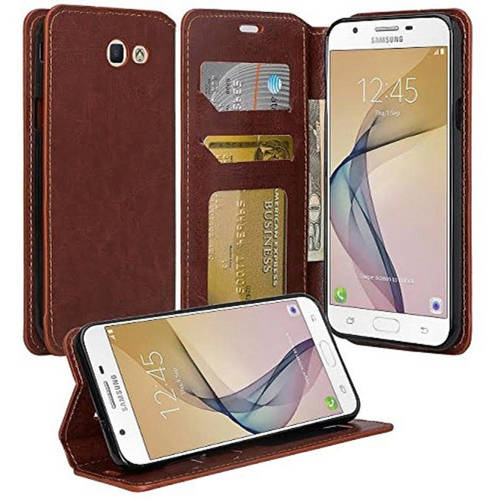Protective Wallet Stand Case for Samsung Galaxy J7 (J7 Perx, J7 Sky Pro, J7 V; 2017), Perfect Fit