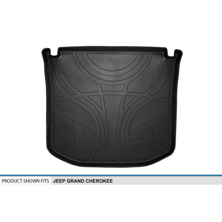 Jeep Cargo Mat - 2011-2015 Jeep Grand Cherokee Black Cargo Floor Mat Slush Tray MaxLiner MAXTRAY