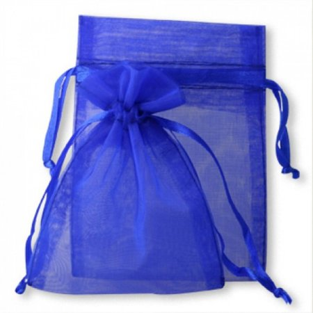 Paper Bags Wholesale (Koyal Wholesale 10-Pack Organza Favor Bags, 3-Inch by 4-Inch, Royal)