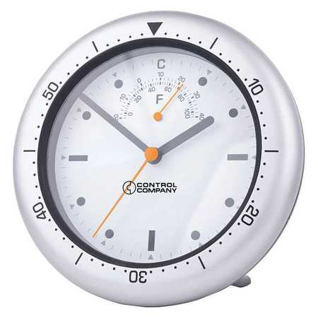 "CONTROL COMPANY 7"" Indoor/Outdoor Wall Clock, 1078"