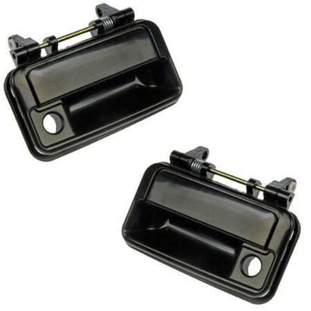 Pair of 89-94 Metro Swift Firefly Front Outside Outer Exterior Door Handles By Aftermarket Auto Parts Door Handle Exterior Front