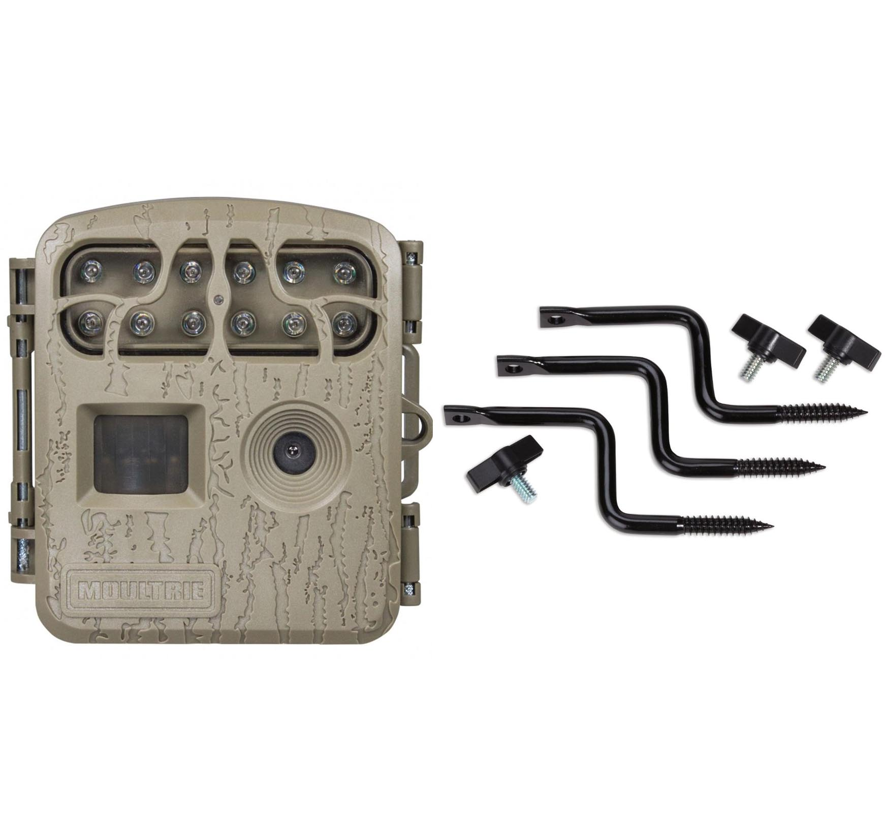 Moultrie Spy Micro Hunting Game Camera + EZ Tree Mounts |...