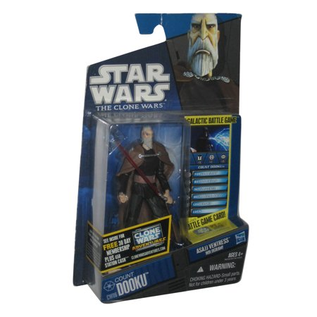 Star Wars The Clone Wars Animated Count Dooku Action Figure