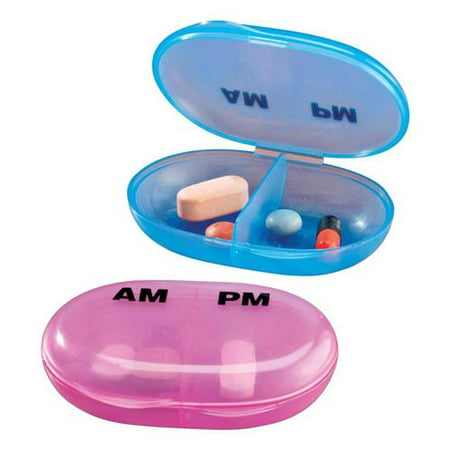 - Apex Easy Comforts AM/PM Pocket Pill Organizer Box, 70079, 2 Ea