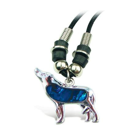 """Aqua Jewelry  - Necklace - Wild Style Chain 18"""" - Wolf"""