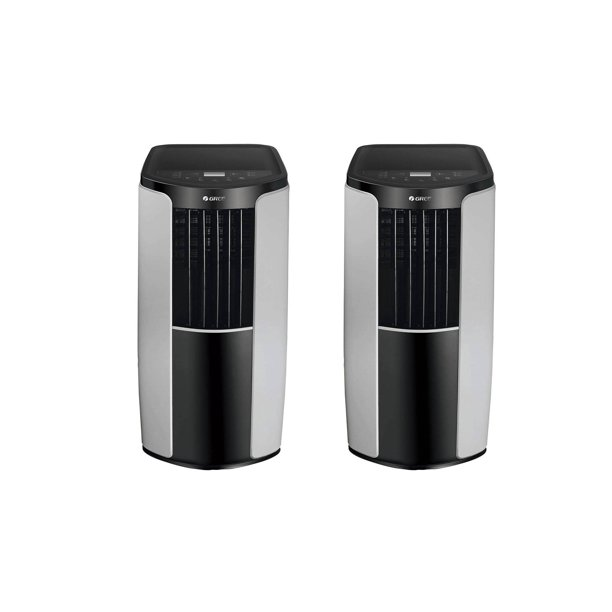 Gree 10000 BTU Portable Home Air Conditioner (2 Pack) (Refurbished)