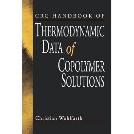 - CRC Handbook of Thermodynamic Data of Copolymer Solutions