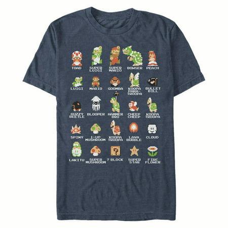 Nintendo Men's Super Mario Bros Character Guide