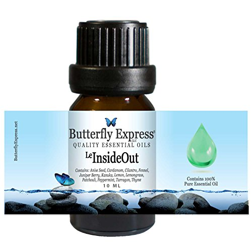 Le InsideOut Essential Oil Blend 10ml - 100% Pure - by Butterfly Express