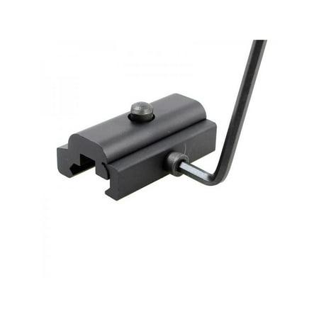 VICOODA 20mm Sling Swivel Stud Adapter Aluminum Alloy Quick Detach 2-Hole Rifle Bipod Mount For Harris Rail Mount Outdoor Hunting Tool (Harris Bipod Mounts)