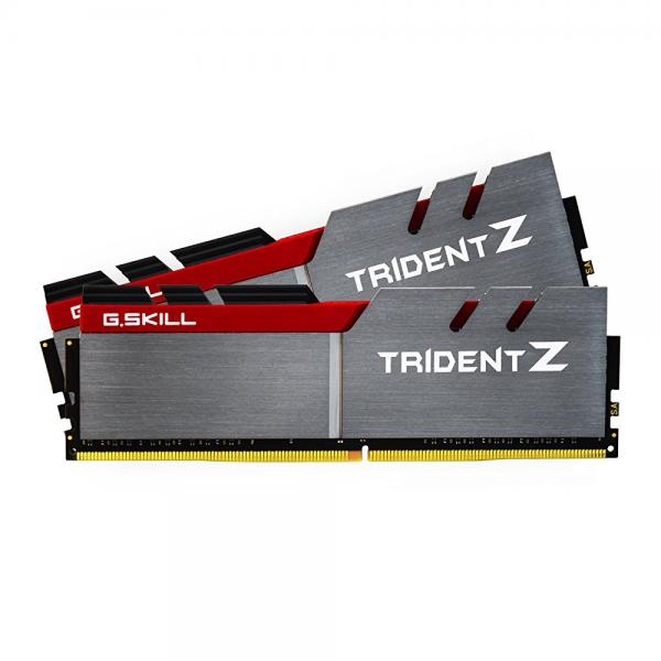 G.SKILL 16GB (2 x 8GB) TridentZ Series DDR4 PC4-24000 3000MHz for Intel Z170 Platform Desktop Memory Model F4-3000C15D-16GTZ