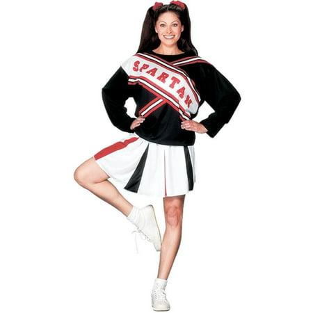 Spartan Cheerleaders Costumes (Fun World Women's Licensed Saturday Nignt Live Spartan Cheerleader, Multi, STD. Size)