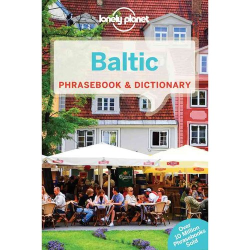 Lonely Planet Baltic Phrasebook